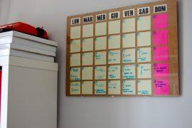 Calendario Mensual DIY