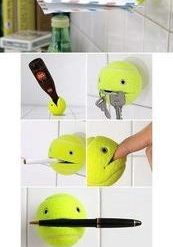 Manualidades pelota de tenis