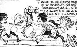 Mafalda Vacaciones