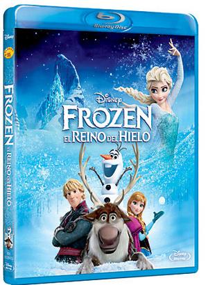 Frozen DVD Blue Ray 3D