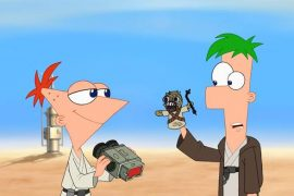 Phineas y Ferb Star Wars