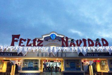 Parque Warner Navidad 2014