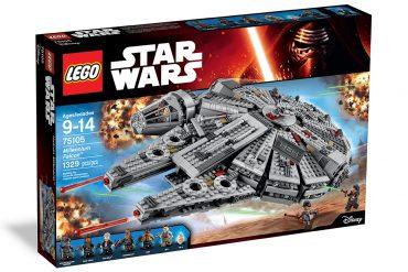 Halcon milenario lego star wars 2015 el despertar de la fuerza