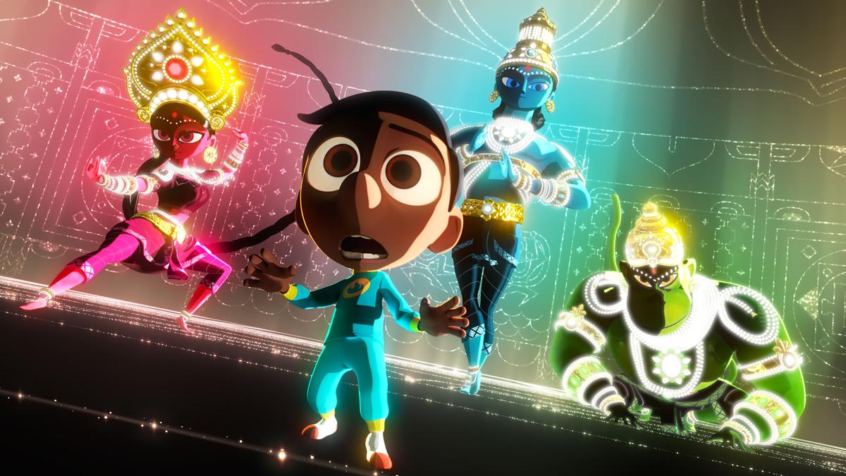 Sanjay's Super Team Pixar Corto El Viaje de Arlo (The Good Dinosaur)