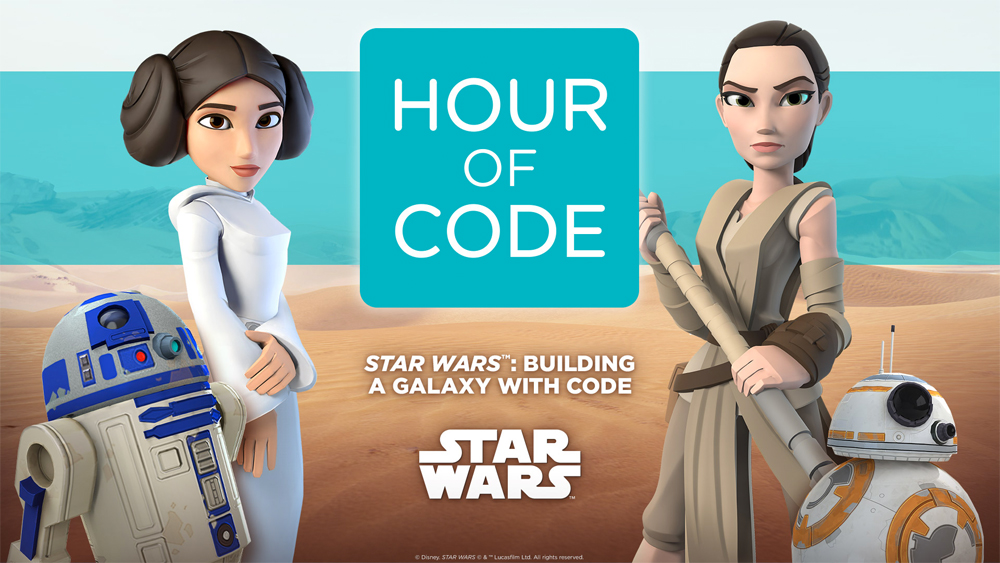 Hour of code Star Wars