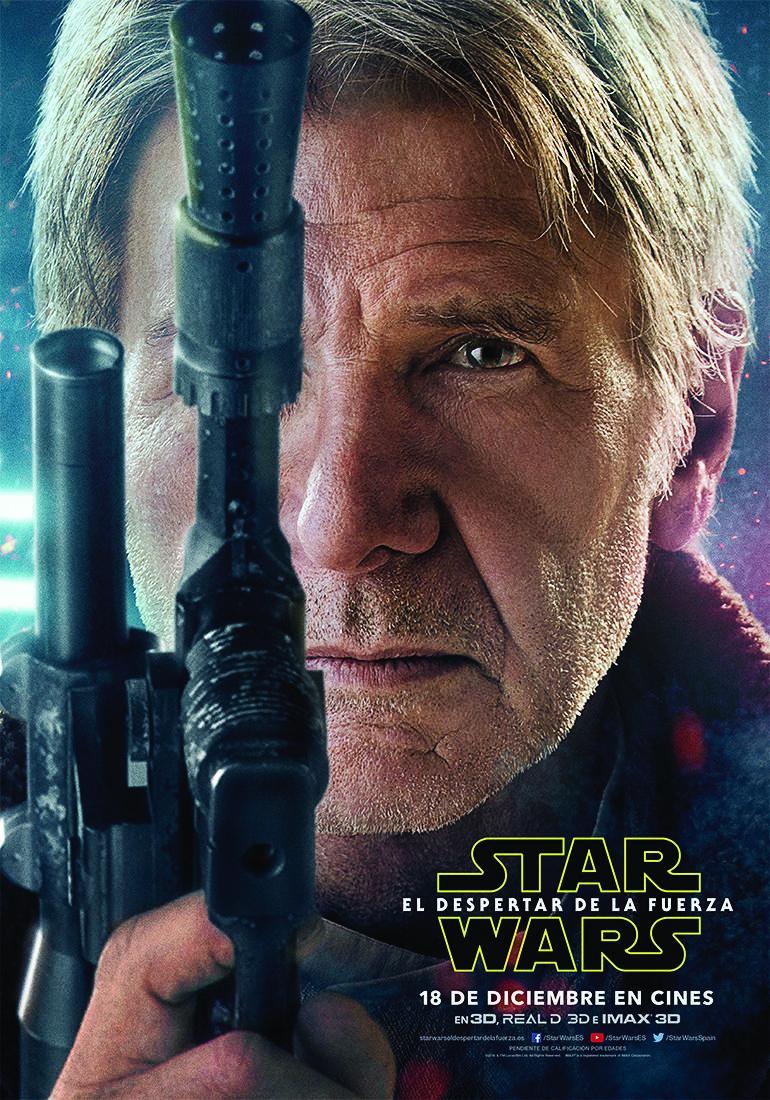 Star Wars El Despertar de la Fuerza - Hans Solo