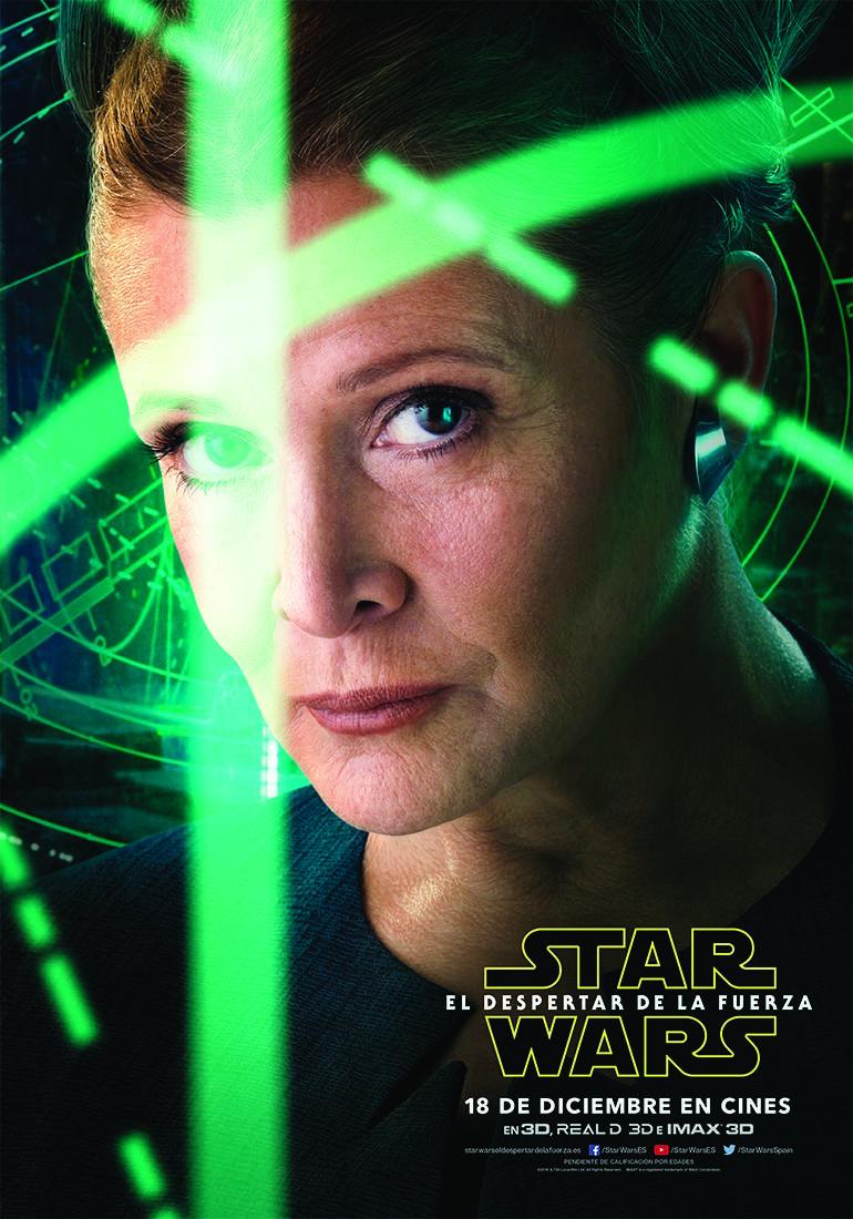 Star Wars El Despertar de la Fuerza - Leia