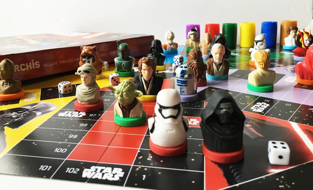 Parchis Star Wars La Razón