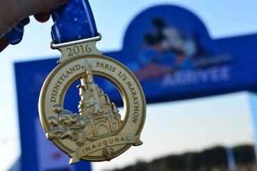 Half Marathon - 5k Race - Disneyland Paris 2016 - Media maraton