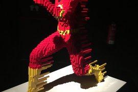 The Art of Brick: DC Superheroes - Lego - MAdrid -Nathan Sawaya -Colon
