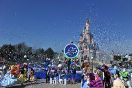 Ceremonia 25 aniversario Disneyland Paris MArzo 2017