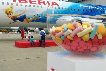 Vuelos Iberia Disneyland Paris Avión Campanilla Disney