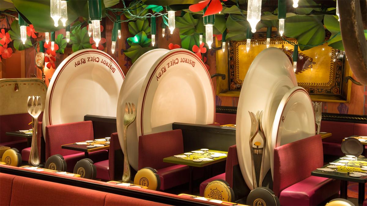 Resultado de imagen de Restaurante Ratatouille Disneyland Paris