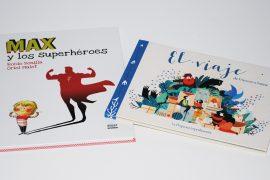 Libros para niños - 6 y 8 años - Premio Kirico - Max y los superhéroes - Rocío Bonilla - Oriol Malet